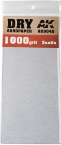 Dry Sandpaper Sheets 1000 Grit (3)