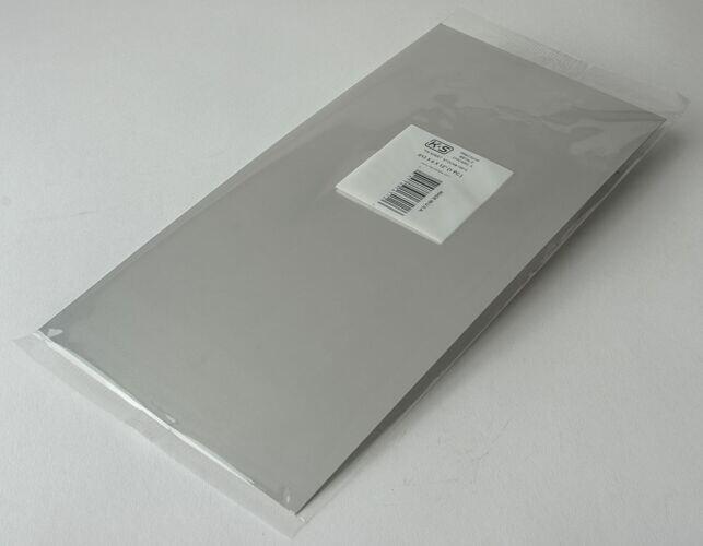 "013"" Thick Tin Sheet -- 6 x 12"""