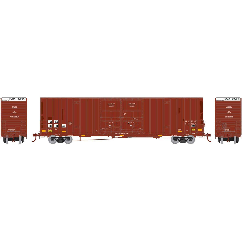 HO RTR 60' Gunderson Box, TTX #889047