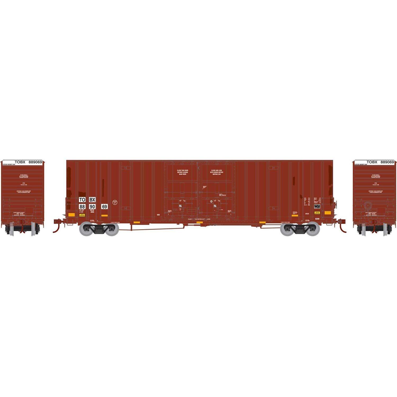 HO RTR 60' Gunderson Box, TTX #889069