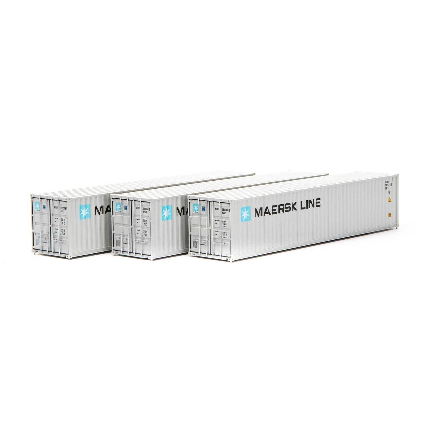 HO RTR 40' Low-Cube Container, Maersk (3)
