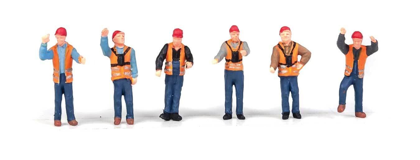 Railroad Yard Crew pkg(6)