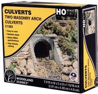 Culvert masonry arch 2/