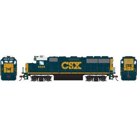 HO GP60, CSX #6898
