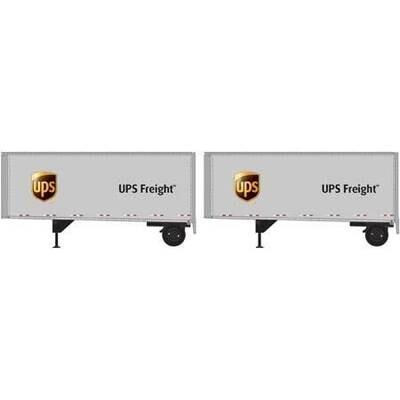 N 28' Trailers w/Dolly, UPS (2)