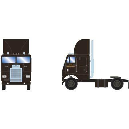 HO RTR FL w/2 Axle, UPS