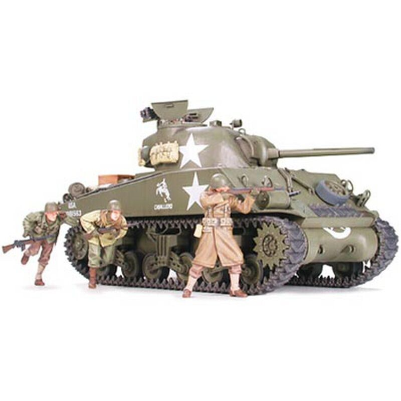 1/35 M4A3 Sherman 75mm Plastic Model