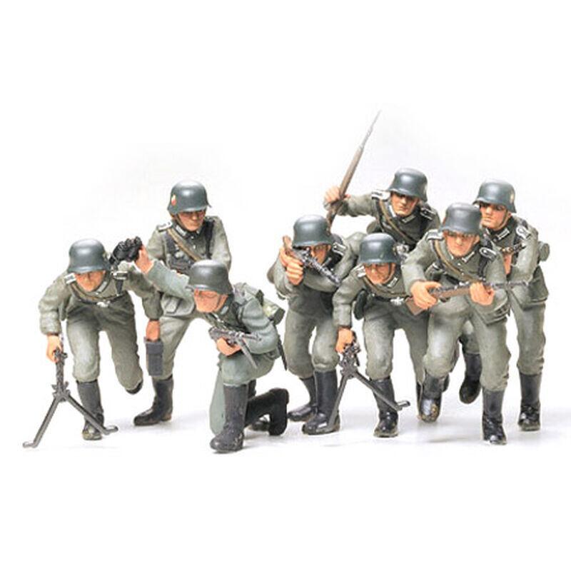 1/35 German Assault Troops Plastic Model