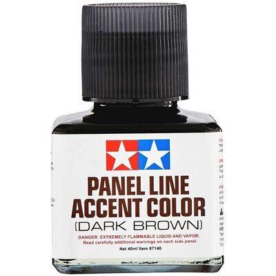 Panel Line Accent Color, 40ml Dark Brown