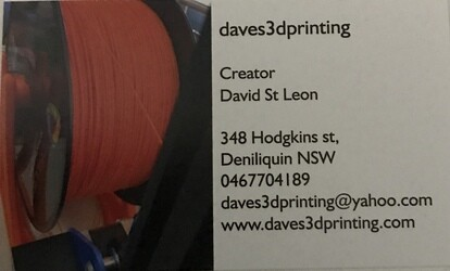 Dave's 3D Printing
