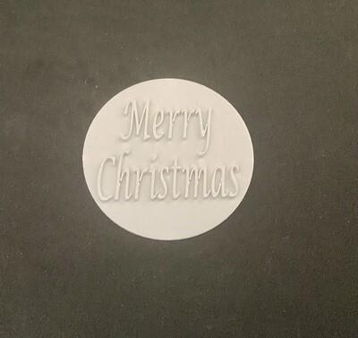 Merry Christmas- Stamp