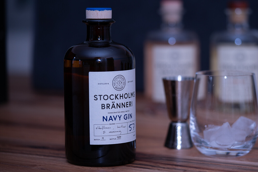 Stockholms Bränneri Navy Gin