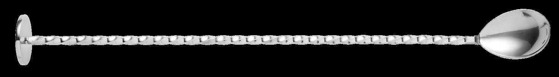 Urban Bar Calabrese Barlöffel Silber mit Stössel 310mm