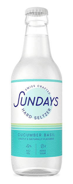 Sundays Hard Seltzer Lime Mint