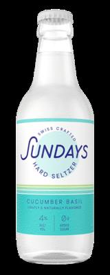 Sundays Hard Seltzer Cucumber Basil