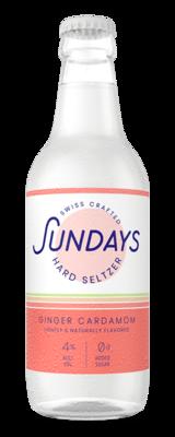 Sundays Hard Seltzer Ginger Cardamom