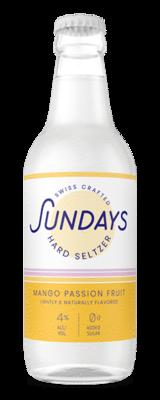 Sundays Hard Seltzer Mango Passion Fruit