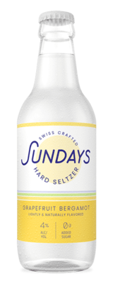 Sundays Hard Seltzer Bergamot Grapefruit