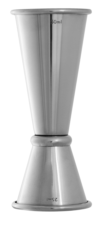 Urban Bar Aero Jigger (Barmass) Stahl 2/4cl
