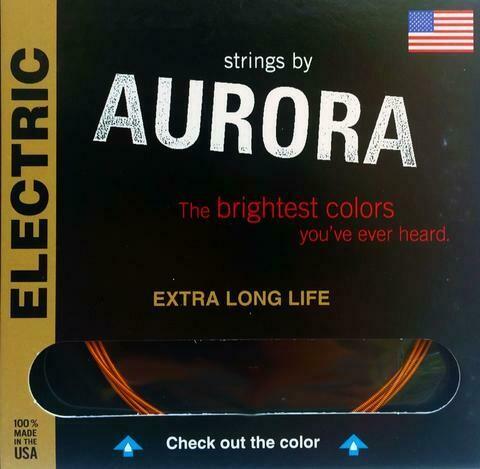Aurora Premium Electric Guitar Strings Medium, 10 | 13 | 17 | 26 | 36 | 46