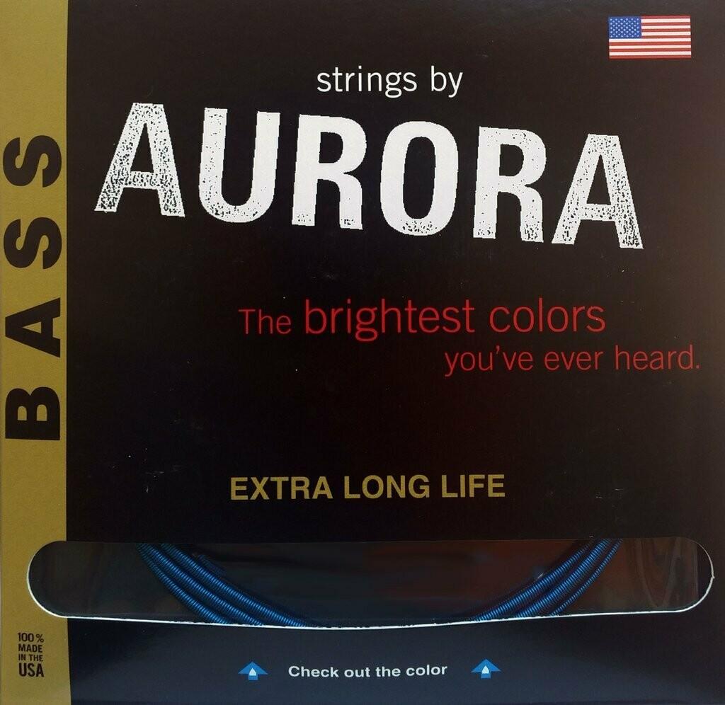 Aurora Premium 5-String Bass Strings 45-125, 45 | 65 | 85 | 105 | 125