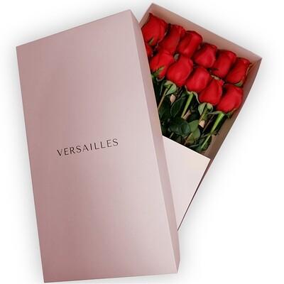 Rosas x 12 Caja - Rojo