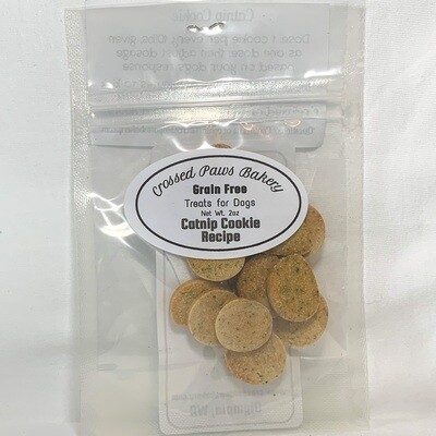 Catnip Cookies (Doggy Downers)