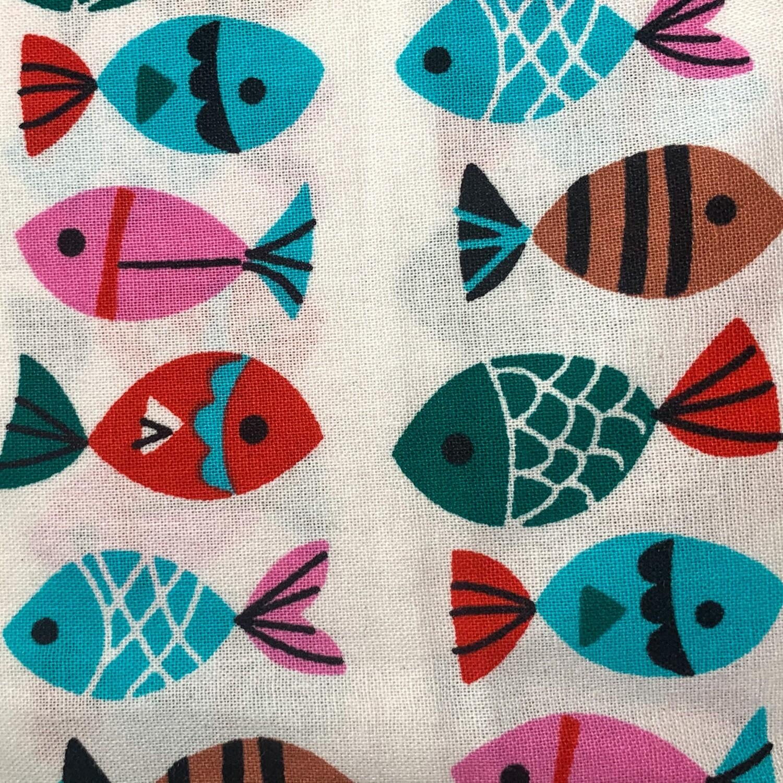 Catnip Cat Toy (Colorful Fish)