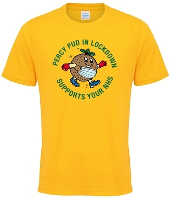 Percy Pud Gold T-Shirt
