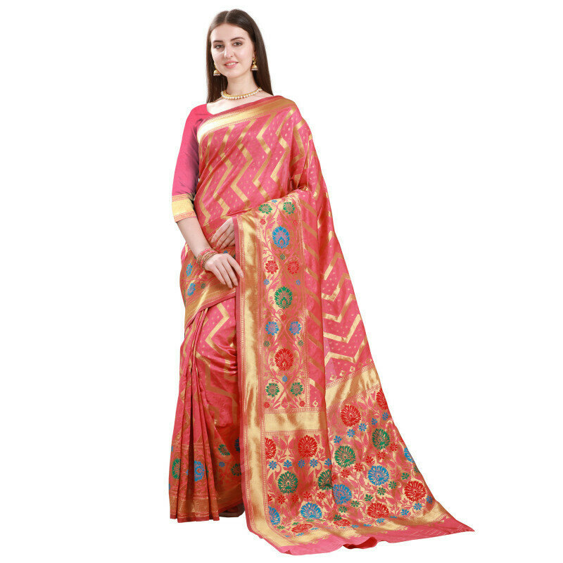Blissful Light Green Color Heavy Work Saree