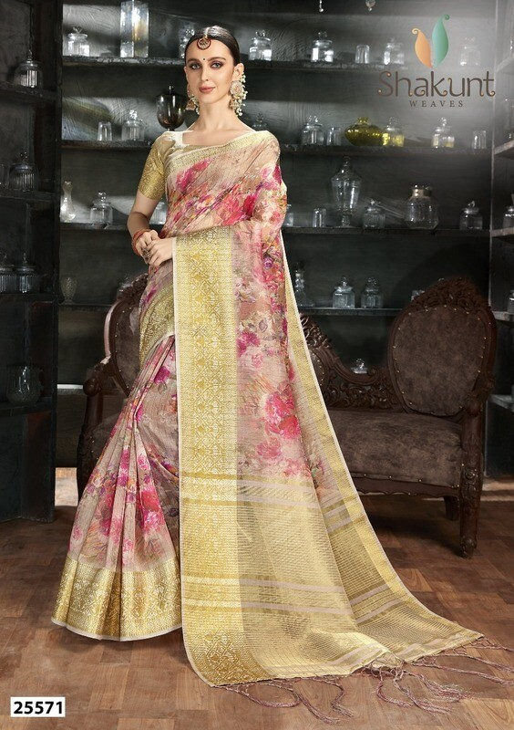 Sizzling Multi Color Party Wear Art Silk Indian Saree