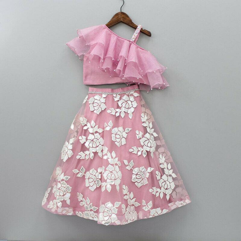 Fantastic Royal Pink Color Lehenga For Girls