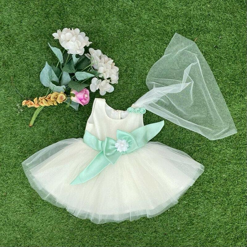 Alluring White Stunning Dress For Girls
