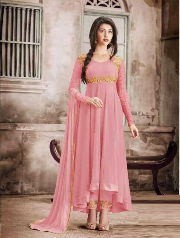Ethnic Wonderful Designer Pink Color Suit