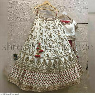 Amazing White Color Lehenga Choli For Girls