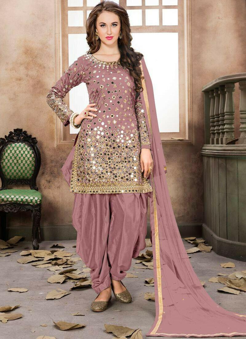 Any Color Taffeta Silk Aanaya Latest Trendy Designer Suit