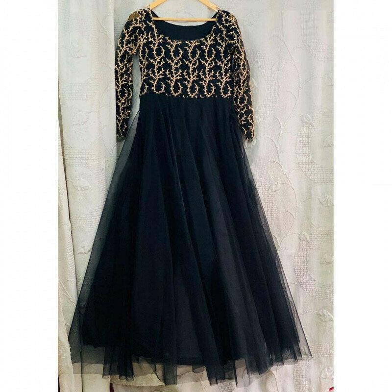 Black Color Party Wear Salwar Suit