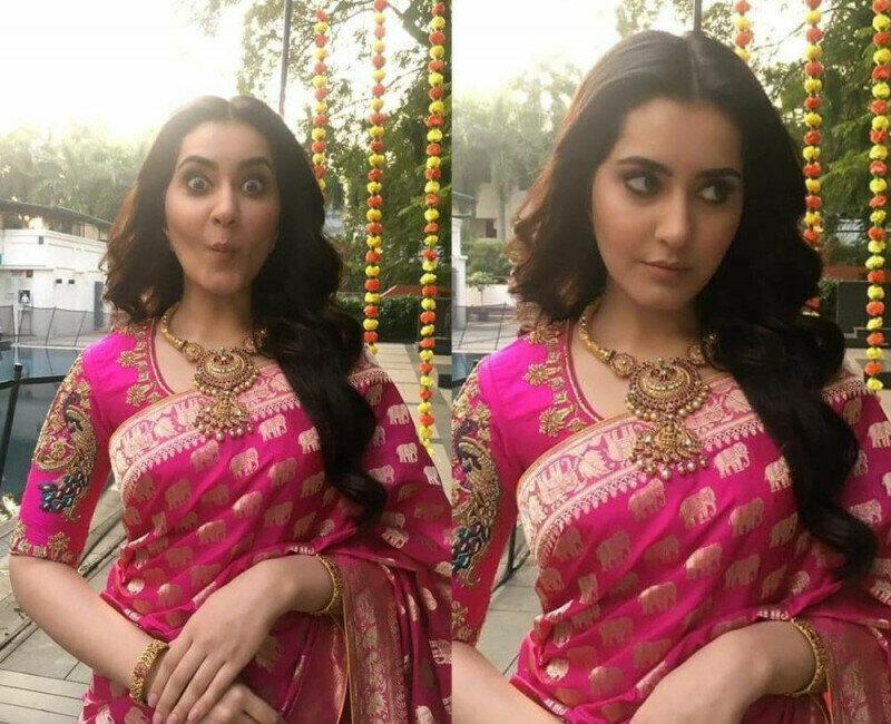 Bollywood Style Pink Saree