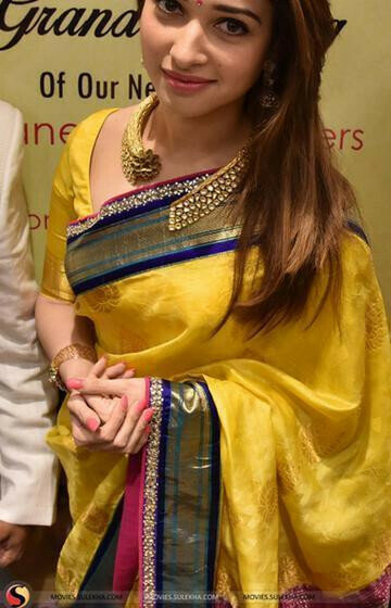 Charismatic Yellow Color Designer zarna silk saree