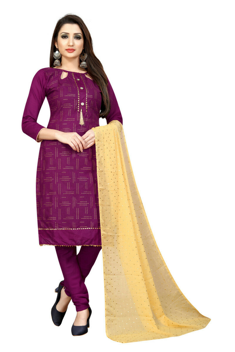 Heavy Purple Color Salwar Suit In Online