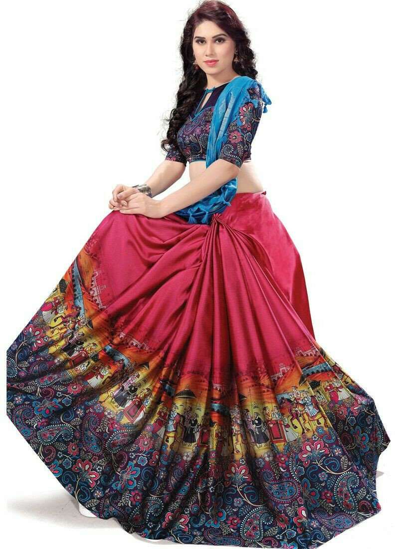 Latest Collection Multi Color Classic Saree For Women
