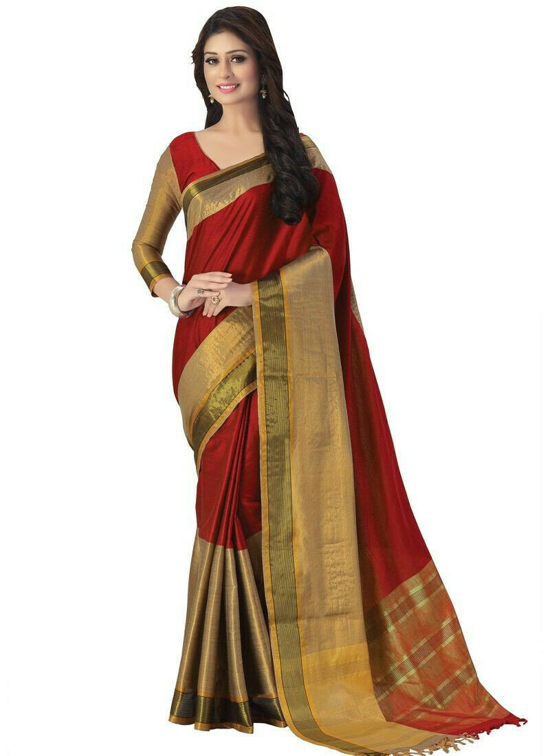 Latest Design Multi Color Traditional Saree