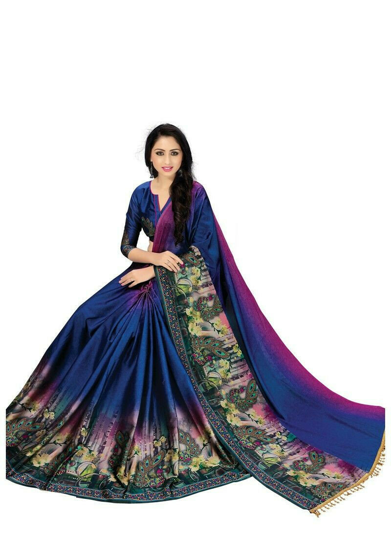 Latest Fancy Multi Color Party Wear Sarees Collection