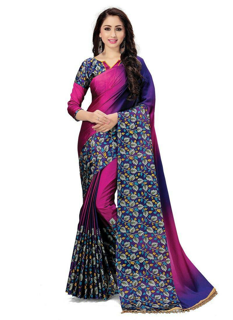 Latest Fashions Multi Color Beautiful Festive Special Saree