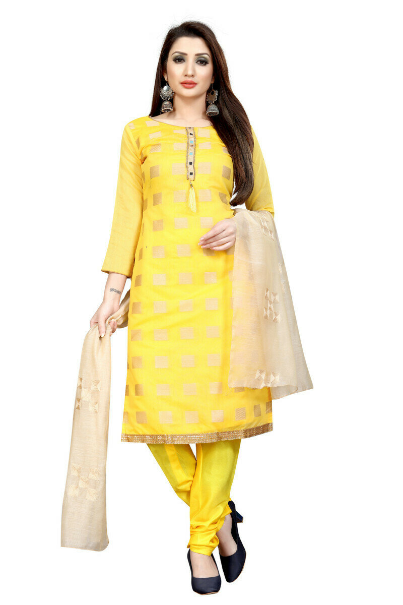 Latest Yellow Color Salwar Suit