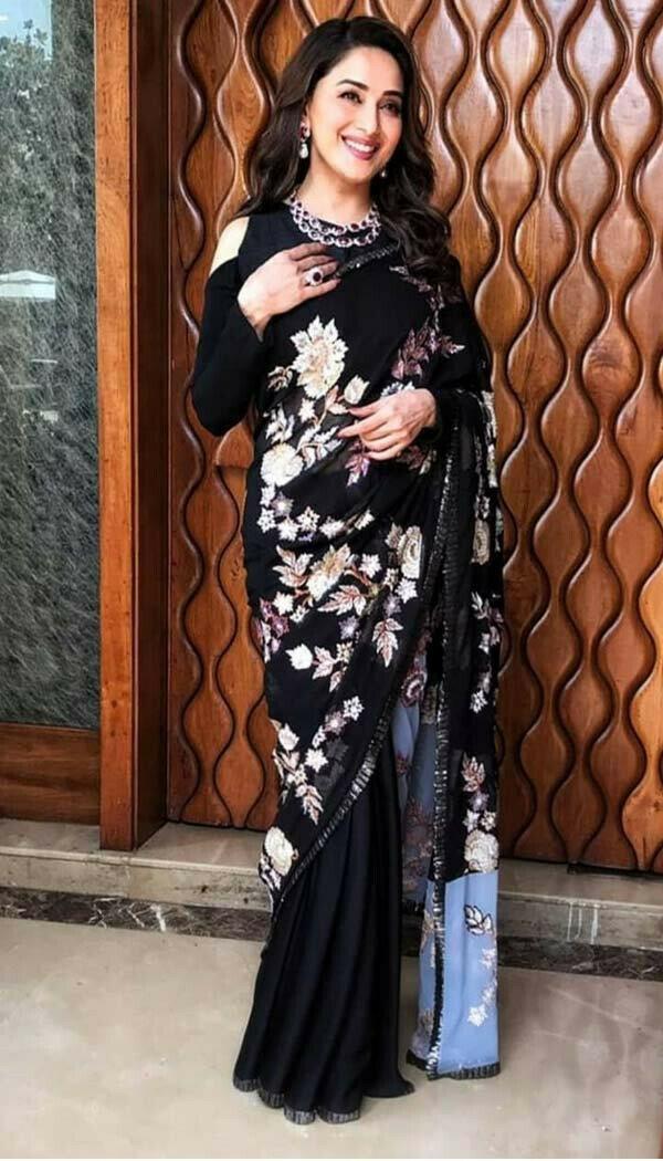 Madhuri Kalank Saree