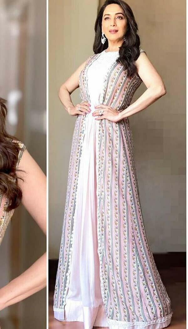 Madhuri Pink Villa Gown