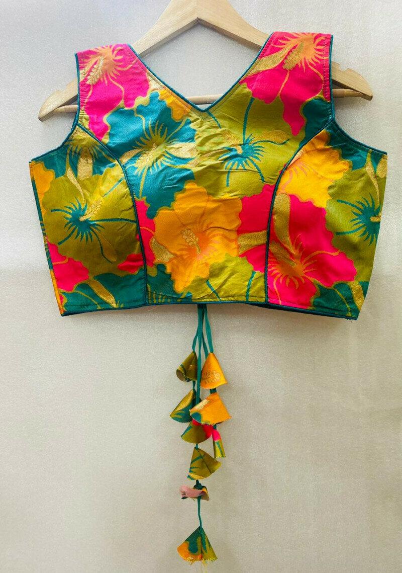 Multi Color Designer Blouse For Woman