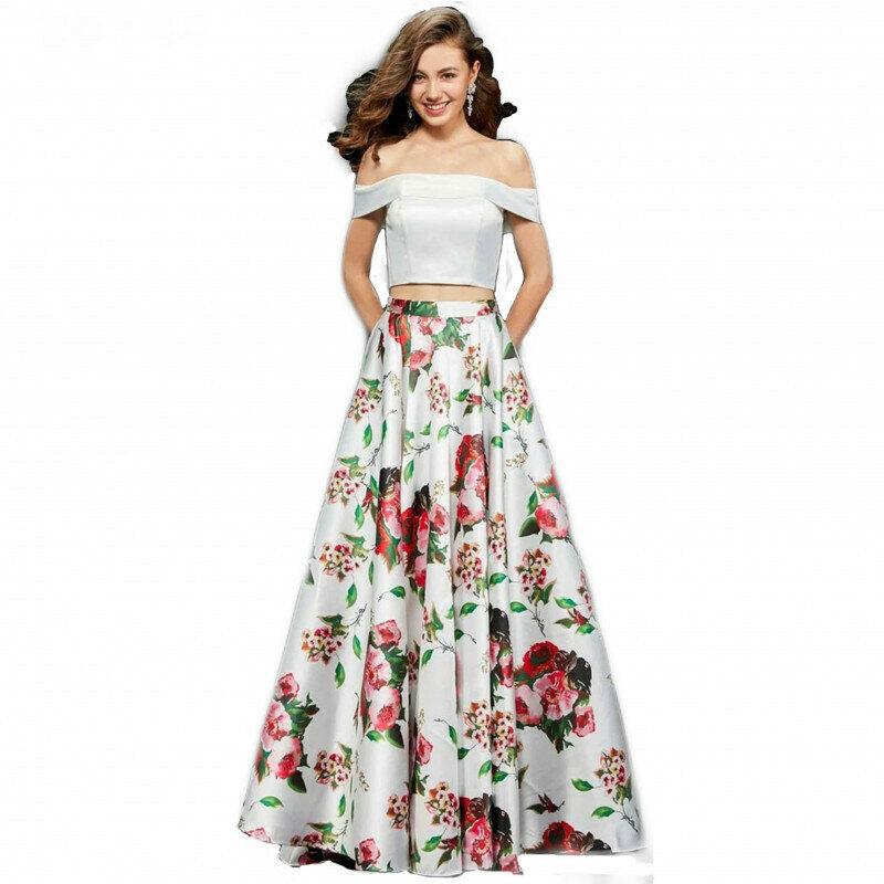 Party Wear Floral White Lehenga Choli For Girls