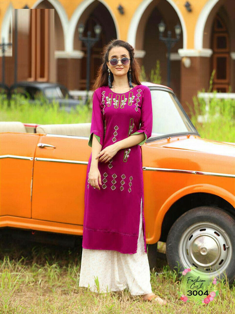Party Wear Pink Color Palazzo Suit